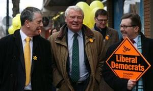 Paddy Ashdown Lib Dems Eastleigh Lord Rennard allegations