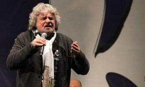 Bebbe Grillo Italy election jokes
