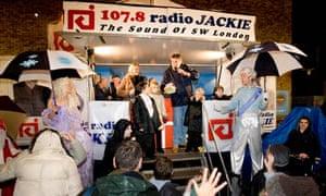 Radio Jackie on the road