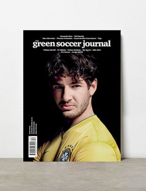 beautiful games: Cover of the current issue of the Green Soccer Journal