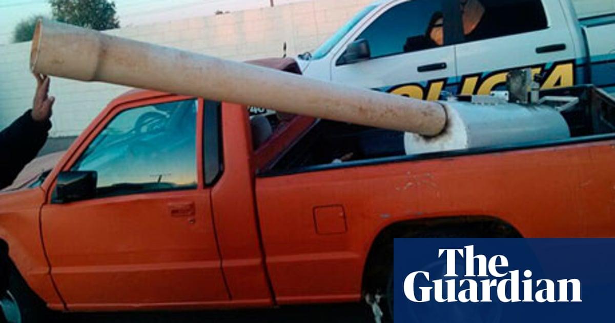 Marijuana cannon' used to fire drugs over US border seized