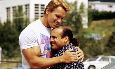 Photo of Danny DeVito & his friend  Arnold Schwarzenegger