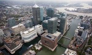 Barclays bank, London Docklands