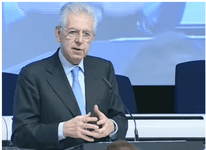 Monti speaks at EU Competition Forum