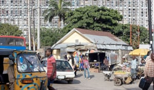 image of a Lagos street
