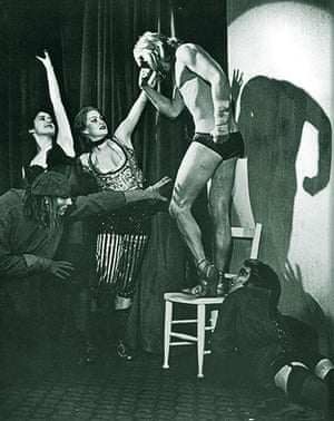 Rocky Horror Picture Show: Richard O'Brien, Little Nell, Rayner Bourton and Tim Curry
