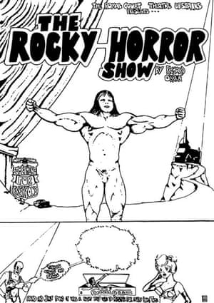 Rocky Horror Picture Show: Programme Cover of Rocky Horror Picture Show