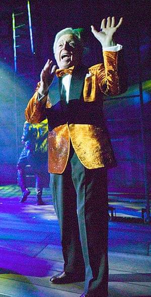 Rocky Horror Picture Show: Michael Aspel as The Narrator