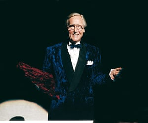 Rocky Horror Picture Show: Nicholas Parsons as The Narrator
