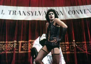 Rocky Horror 2: Tim Curry in a still from the Rocky Horror Picture Show film