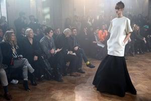 Paris fashion week 2013: Gareth Pugh - Front Row - PFW F/W 2013