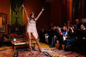Paris fashion week 2013: Ann-Sofie Johansson, as part of Fall-Winter 2013/2014 women's for H&M