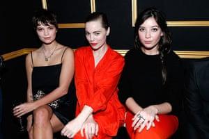 Paris fashion week 2013: H&M Fashion Show - Front Row - PFW F/W 2013
