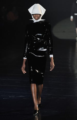 Paris fashion week 2013: Mugler- Runway - PFW F/W 2013