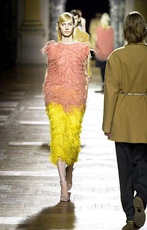 Paris fashion week 2013: Dries Van Noten show, Autumn Winter 2013,