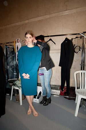 Paris fashion week 2013: Felipe Oliveira Baptista - Backstage - PFW F/W 2013