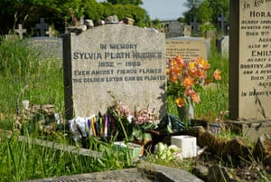 Ten best: Grave of poet Sylvia Plath, Heptonstall, Calderdale