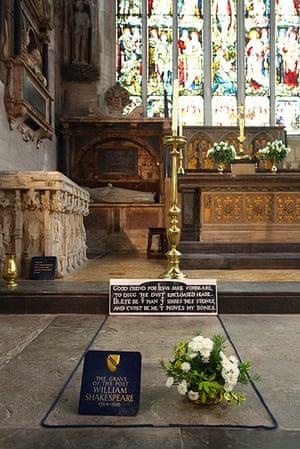 Ten best: Shakespeare's Grave