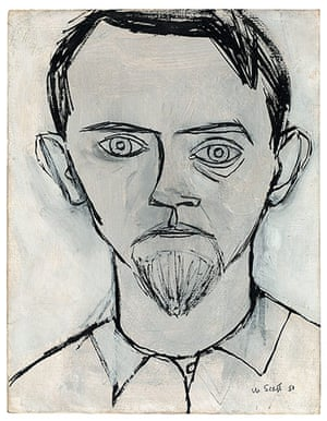 William Scott: Self Portrait by William Scott