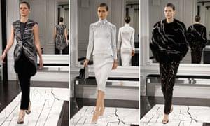 Balenciaga Autumn/Winter collection at Paris Fashion Week
