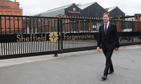 Clegg visits Sheffield