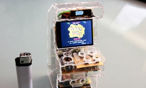 Raspberry Pi miniature arcade machine