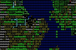 Dwarf Fortress screen shot for MoMA