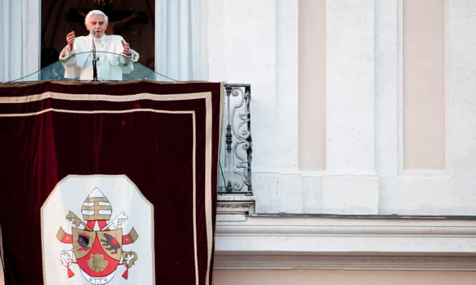 #PopesLastDay sees Benedict XVI give his last speech and blessing.