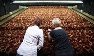 Axminster carpets.