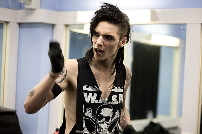 Backstage With Black Veil Brides In Pictures Music The Guardian