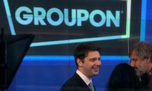 Groupon CEO Andrew Mason
