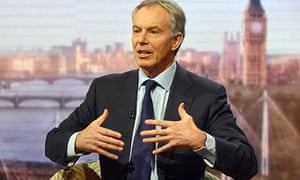 Tony Blair on the BBC's Andrew Marr Show