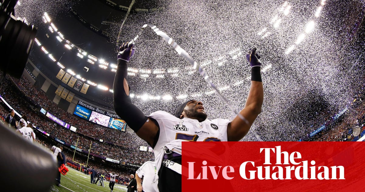 de36befd43b Super Bowl XLVII: Baltimore Ravens vs San Francisco 49ers - live! | Sport |  The Guardian