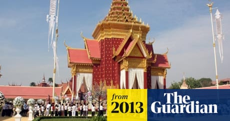Cambodians pay last respects to King Sihanouk