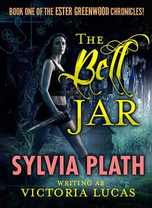 Parody book covers: Parody book cover of The Bell Jar