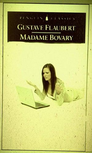 Parody book covers: Parody book cover of Madame Bovary