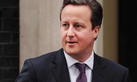 The Prime Minister David Cameron Travels to Algeria for Talks on Hostage Crisis and Mali