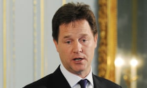 Uncharacteristically brusque – Nick Clegg, Lib Dem leader and deputy prime minister.