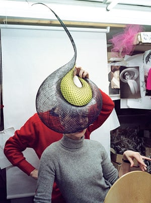 hat man gallery: In the studio, 10 February 1999