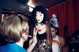 hat man gallery: Paris Fashion Week; haute coutre Andy Warhol Collection, 1 January 2000