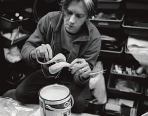 hat man gallery: In the studio, 11 November 1998