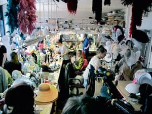 hat man gallery: The Royal Wedding, Battersea Studio, 27 April 2011