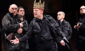 Jonathan Slinger as Richard III in Stratford in 2007