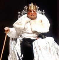 Simon Russell Beale as Richard III in 1992