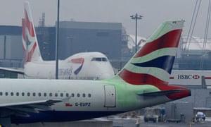 British Airways air passenger duty report
