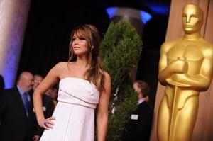 Oscars luncheon: Actress Jennifer Lawrence
