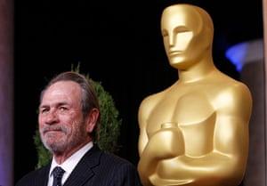 Oscars luncheon: Tommy Lee Jones