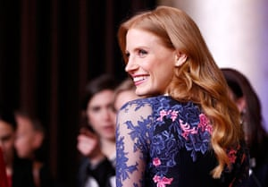 Oscars luncheon: Jessica Chastain