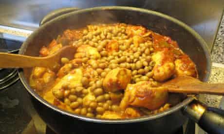 Aubergine stew