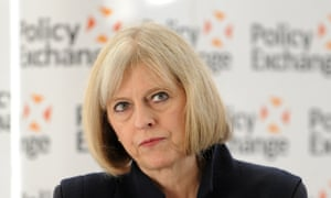 Equality debate – the home secretary, Theresa May.
